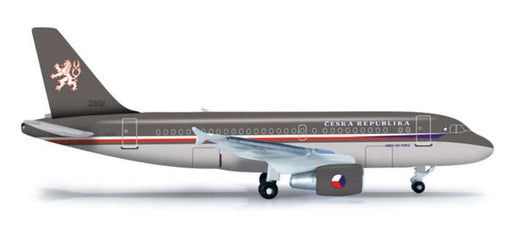 Herpa Czech Air Force A319CJ 1/500 Scale Diecast Aircraft Airplane Model