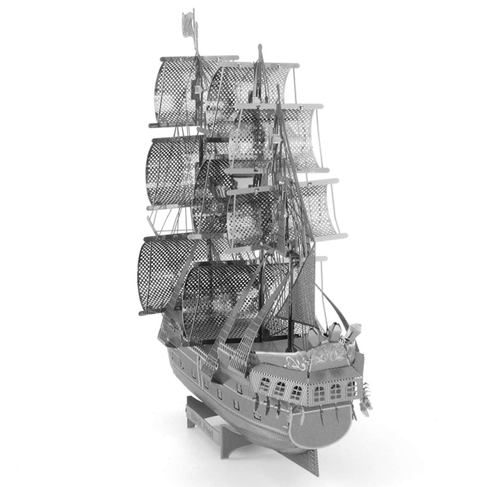 Fascinations ICONX Black Pearl Ship Laser Cut 3D Metal Model Kit