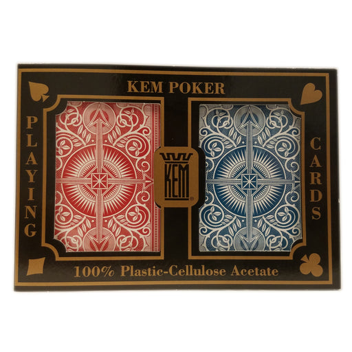 KEM Arrow Wide Jumbo - Red and Blue Deck Set