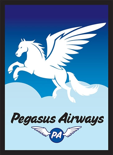 Legion Pegasus Air Art Sleeves with Gloss Finish, 50 Pack Standard Size