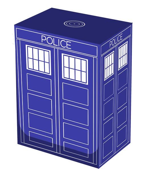Legion Police Box Deck Box for up to 100 Sleeved Cards