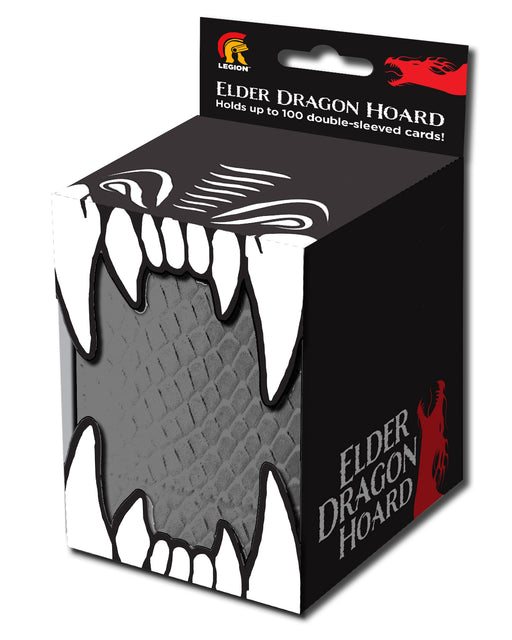 Legion Elder Dragon Hoard Vinyl Deck Box with Magnet - Gray