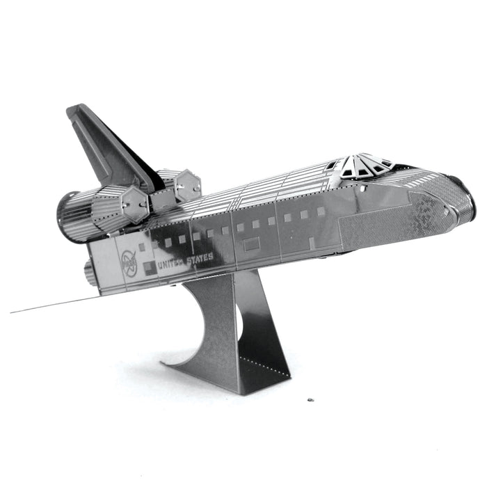 Fascinations Metal Earth NASA Space Shuttle Discovery Laser Cut 3D Metal Kit