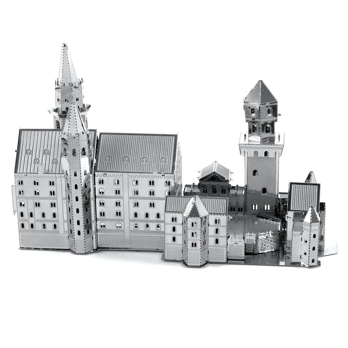 Fascinations Metal Earth Neuschwanstein Castle Laser Cut 3D Metal Model Kit