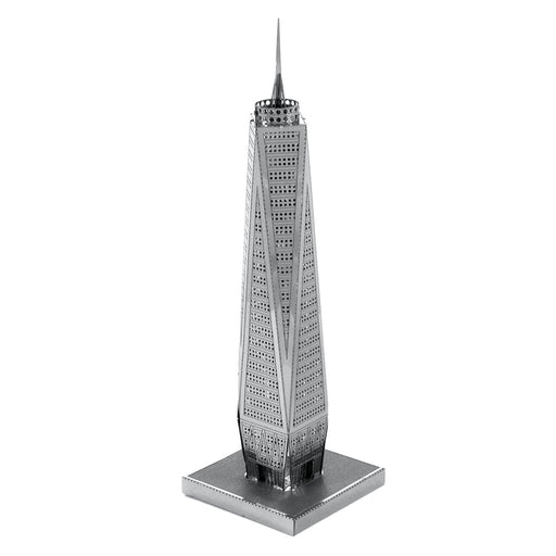 Fascinations Metal Earth One World Trade Center Laser Cut 3D Metal Model Kit