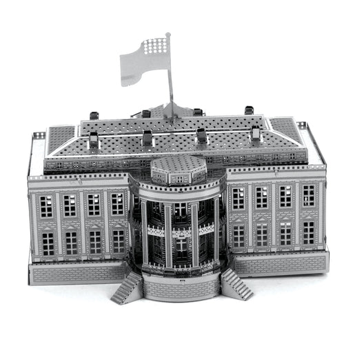 Fascinations Metal Earth White House Laser Cut 3D Metal Model Kit
