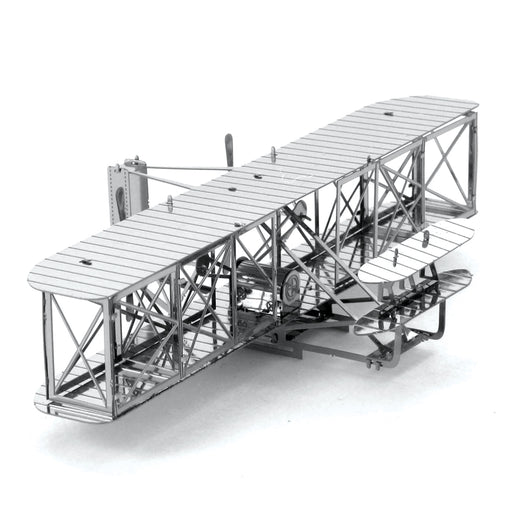 Fascinations Metal Earth Wright Brothers Plane Laser Cut 3D Metal Model Kit