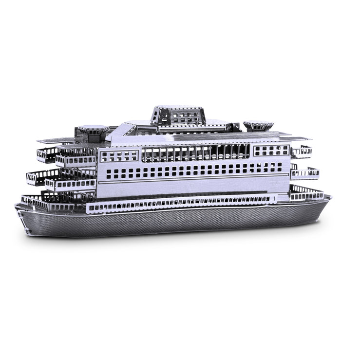 Fascinations Metal Earth Commuter Ferry Laser Cut 3D Metal Model Kit