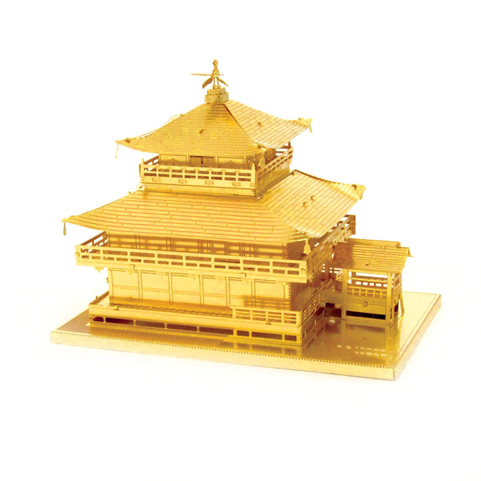 Fascinations Metal Earth Kinkaku-ji Building Gold Laser Cut 3D Metal Model Kit