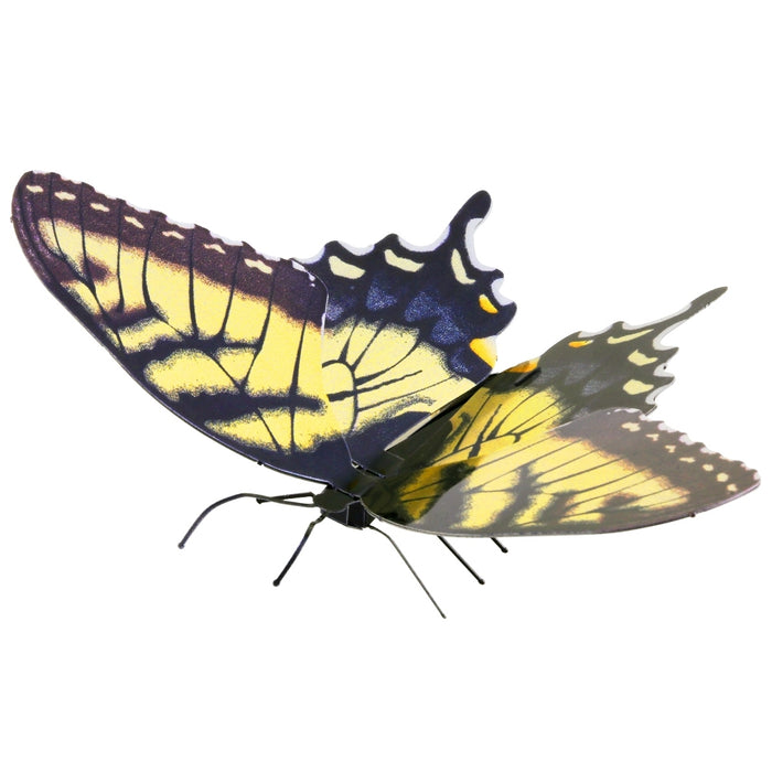 Fascinations Metal Earth Tiger Swallowtail Butterfly 3D Metal Model Kit
