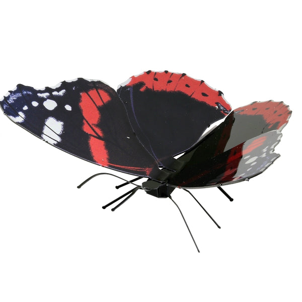 Fascinations Metal Earth Red Admiral Butterfly 3D Metal Model Kit