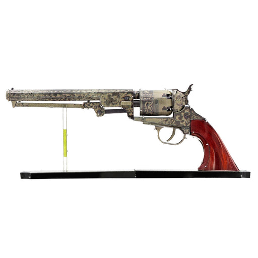 Fascinations Metal Earth Wild West Revolver Unassembled 3D Metal Model Kit