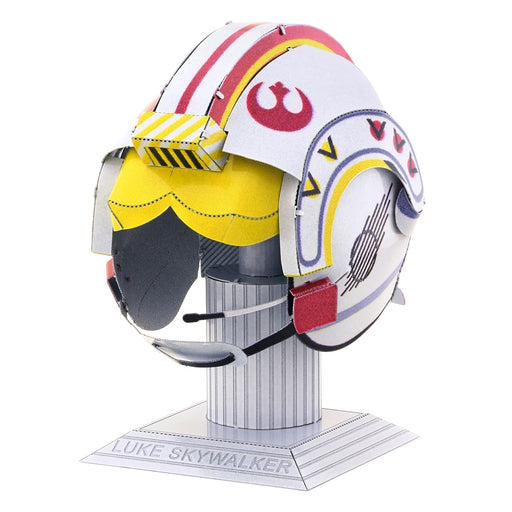 Fascinations Metal Earth Luke Skywalker Helmet Unassembled Color 3D Metal Model