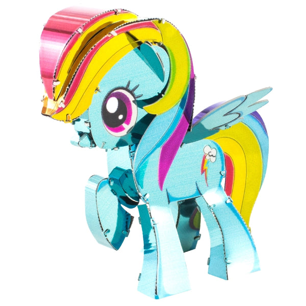 Fascinations Metal Earth My Little Pony Rainbow Dash Color 3D Model Kit