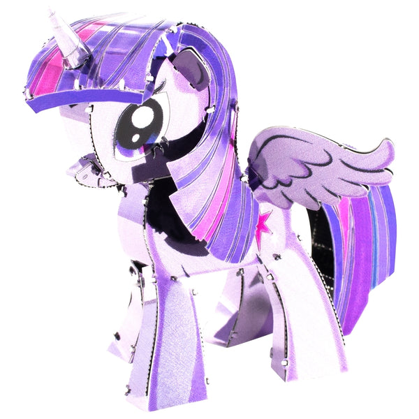 Fascinations Metal Earth My Little Pony Twilight Sparkle Color 3D Metal Kit