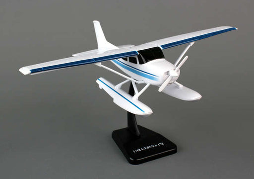 Sky Kids Cessna C172 Skyhawk with Floats 1/42 Scale Plastic Toy Airplane