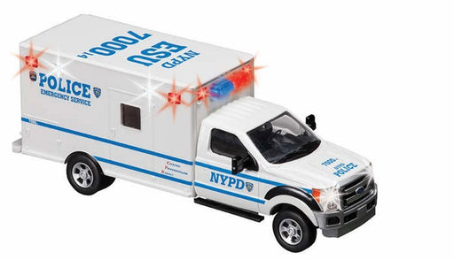 Daron NYPD Emergency Service Unit 1/48 Diecast Model Replica Ambulance