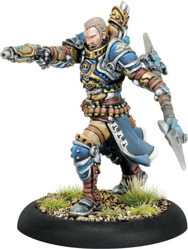 Warmachine Cygnar Commander Dalin Sturgis Warcaster Metal 31113 Unpainted Mini