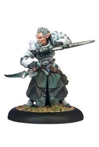 Warmachine Retribution of Scyrah, Garryth Blade Warcaster Unpainted Metal Mini