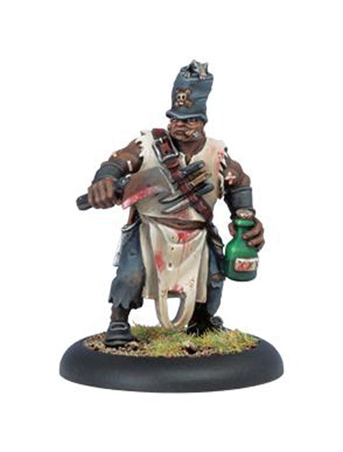 Warmachine Mercenaries Doc Killingsworth Privateer Character Solo Unpainted Mini