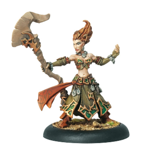 Hordes Circle Orboros Druid Wilder #72049 Unpainted Metal Miniature