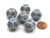 Speckled 18mm 12 Sided D12 Chessex Dice, 6 Pieces -  Air