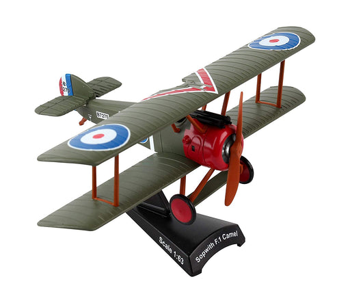 Daron Postage Stamp Sopwith F.I Camel 1/63 Cpt. Arthur Roy Brown Model Bi-plane