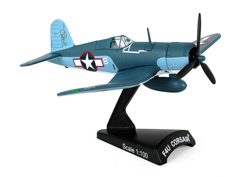 Daron Postage Stamp F4U Corsair VMF-422 1st Lt. Stout 1/100 Model Aircraft