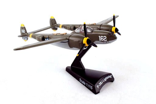 Daron Postage Stamp P38 1/115 23 Skidoo Model Aircraft