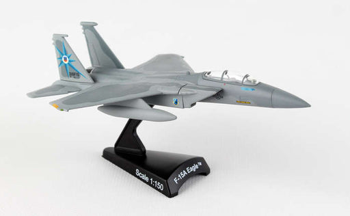 Diecast Metal Historical Airplane with Stand - F-15A Eagle Green Dragons 1/150