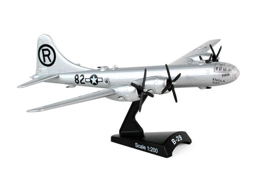 Daron Postage Stamp USAF B-29 Superfortress 1/200 Enola Gay Diecast Model Bomber