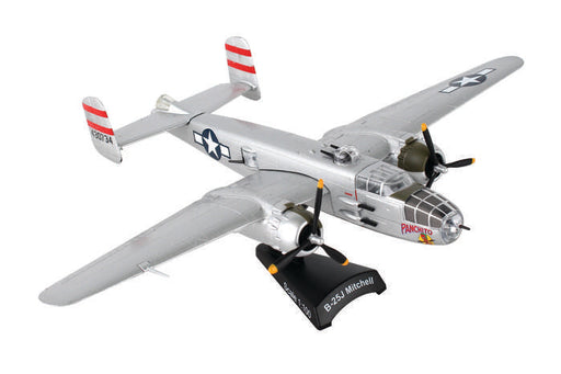 Daron Postage Stamp B25J 1/100 Panchito Model Aircraft