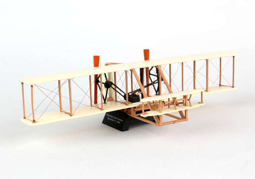 Diecast Metal Historical Airplane with Stand - Wright Flyer 1/72 Scale Plane