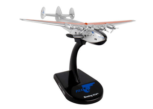 Diecast Metal Historical Airplane with Stand - Pan Am B314 1/350 Scale Plane