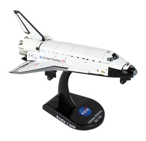 Daron Postage Stamp Space Shuttle Atlantis 1/300 Diecast Model Replica