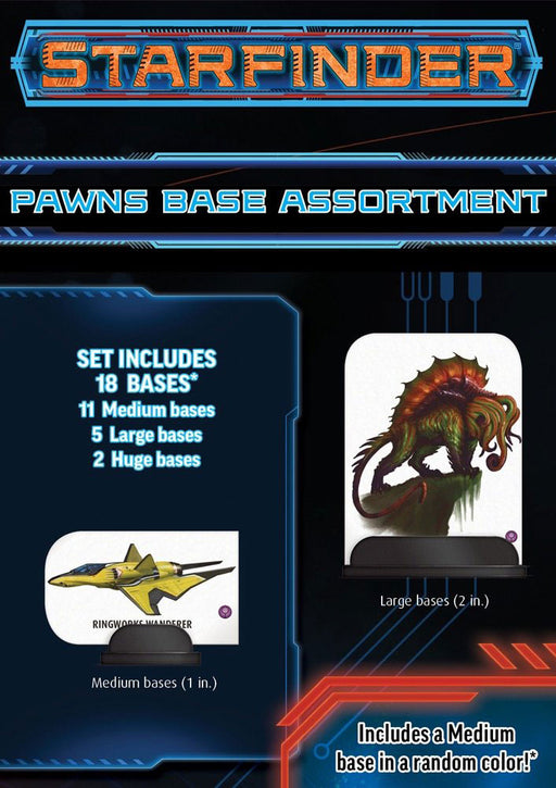 Starfinder RPG Pawns - Base Assortment with 18 Pieces