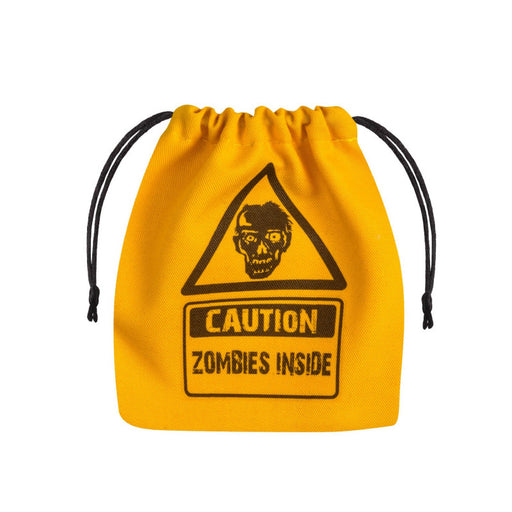 Q-Workshop Dice Bag - Zombie Yellow