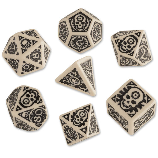 Q-Workshop Adventures in the East Mark RPG Dice Set (7 Piece Set)