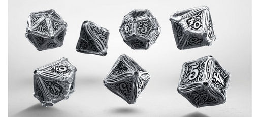 Q-Workshop Metal Dice Set - Call of Cthulhu (7 Pieces)