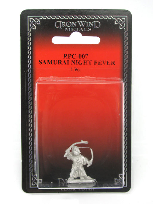 Samurai Night Fever #RPC-007 Classic Ral Partha Fantasy RPG Metal Figure