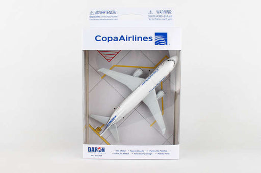 Diecast Metal Aircraft Toy Commercial Airplane - Copa Airlines