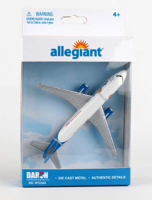 Diecast Metal Aircraft Toy Commercial Airplane - Allegiant Airlines