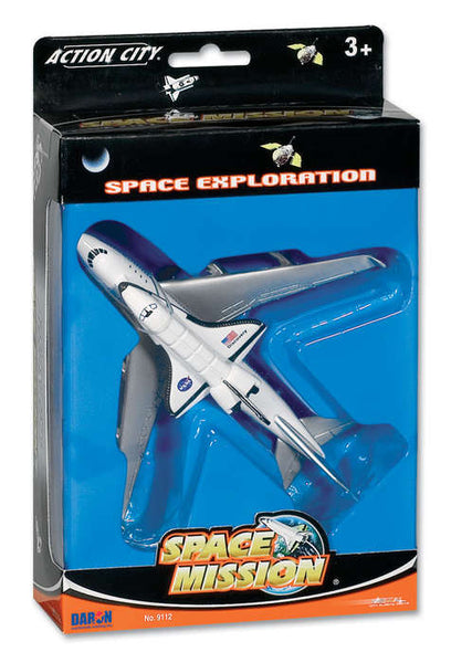 Space Shuttle with 747 Transporter Aircraft Toy Models