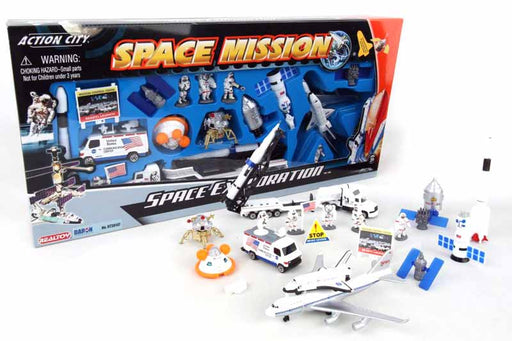 Space Shuttle 20 Piece Toy Playset