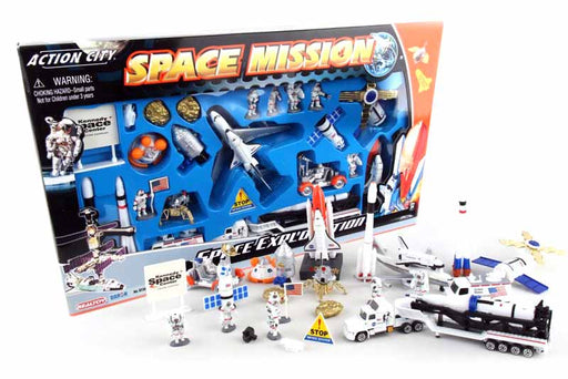 Space Mission 28 Piece Toy Playset