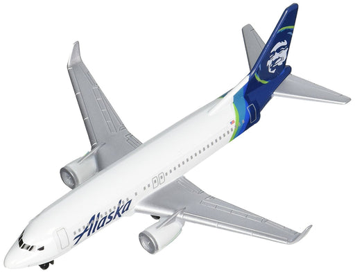 Daron Alaska Airlines New Livery Diecast Model Replica Airplane