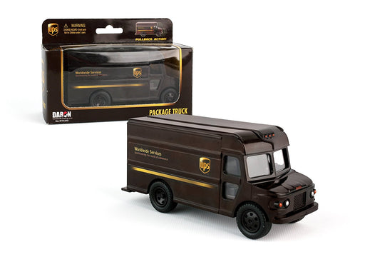 Daron UPS Pullback Package Toy Truck