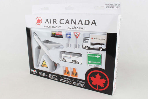 Air Canada New Livery Playset Toy Model Figures