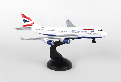 Diecast Metal Aircraft Toy Commercial Airplane - British Airways