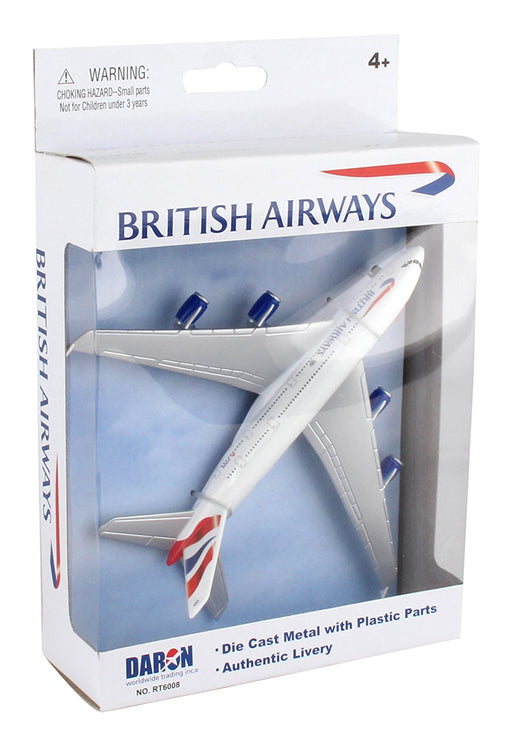 Diecast Metal Aircraft Toy Commercial Airplane - British Airways A380